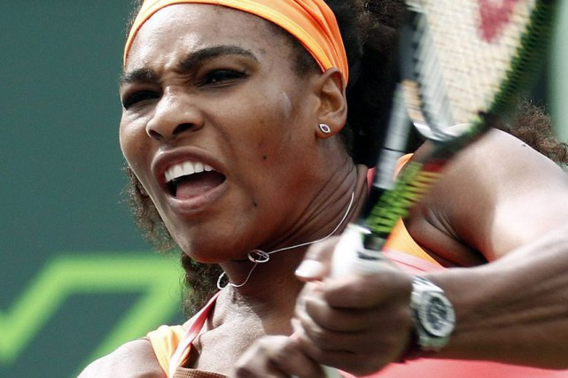 Serena Williams... (PHOTO J PAT CARTER, AP)