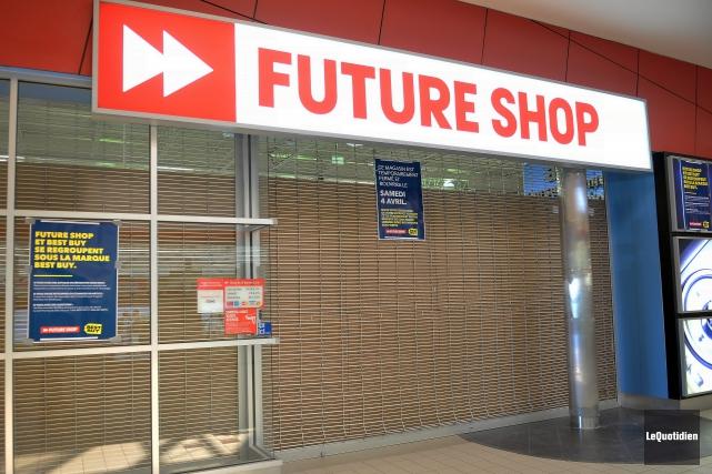 Les clients se sont butés à des portes... ((Photo Le Quotidien-Rocket Lavoie))