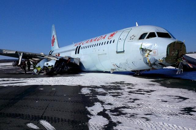 Selon le Bureau de la sécurité des transports,... (PHOTO Bureau de la sécurité des transports du Canada)
