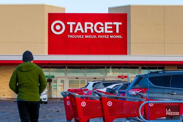 En janvier, Target a annoncé qu'il quittait le... (PHOTO MARTIN TREMBLAY, ARCHIVES LA PRESSE)