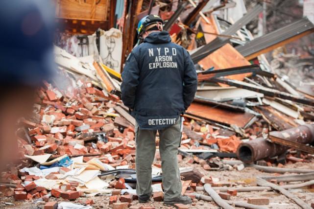 L'explosion et l'incendie avaient fait jeudi 22 blessés,... (Photo: AP)