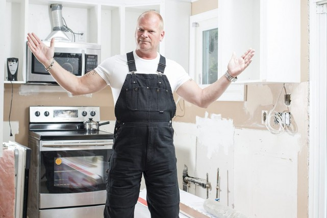 Le gourou de la rénovation domiciliaire, Mike Holmes,... ((Courtoisie))