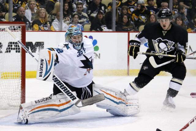 David Perron et Sidney Crosby ont marqué en tirs de barrage, et les Penguins de... (Photo: AP)