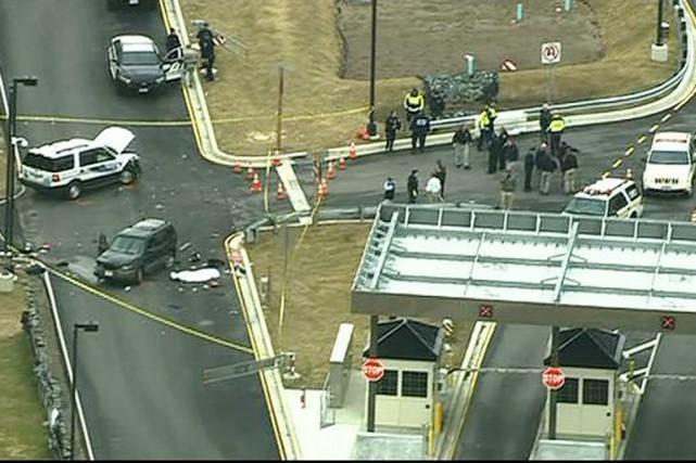 Une fusillade a éclaté sur le campus de... (PHOTO MYFOXDC.COM)