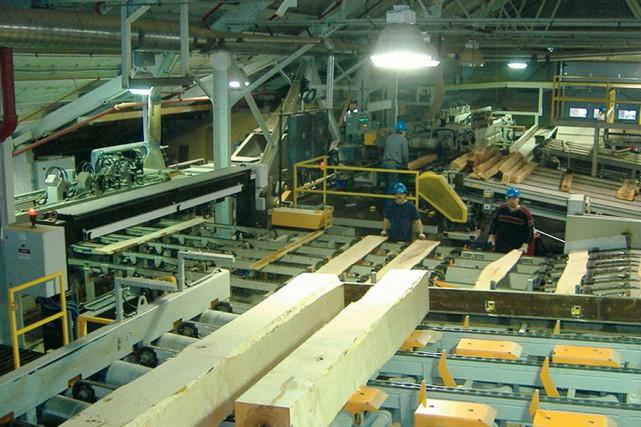 L'usine de Thurso d'Industries Lauzon.... (PHOTO FOURNIE PAR INDUSTRIES LAUZON)