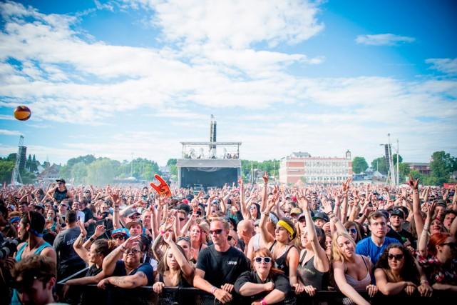 L'an dernier, Amensia Rock Fest a attiré près... (PHOTO FOURNIE PAR AMENSIA ROCK FEST)