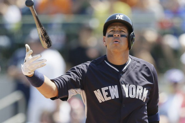 Alex Rodriguez... (PHOTO CARLOS OSORIO, ASSOCIATED PRESS)