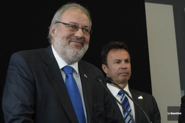 Le ministre de l'Énergie et des Ressources naturelles,... (Photo: Sylvain Mayer, Le Nouvelliste)