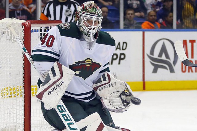 Devan Dubnyk... (PHOTO PAUL BERESWILL, ARCHIVES ASSOCIATED PRESS)