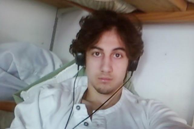 Djokhar Tsarnaev, 21 ans, jeune musulman d'origine tchétchène,... (PHOTO ARCHIVES AFP)