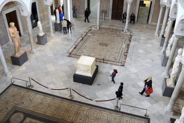Le Musée du Bardoest réputé pour sa collection... (PHOTO HASSENE DRIDI, AP)