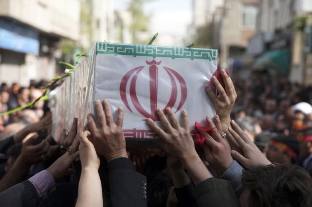 Selon l'agence officielle iranienne Irna, qui fait état... (PHOTO MOHAMMAD REZA JOFAR FARS/AP)