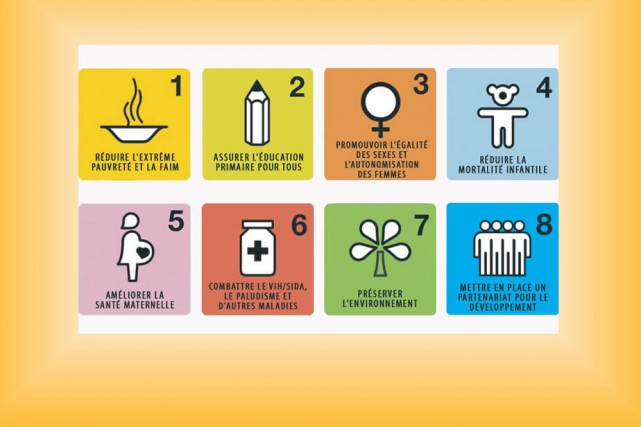 Les huit objectifs du millénaire pour le développement,...