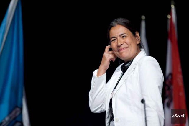 L'ex-présidente de l'Association des femmes autochtones du Canada,... (Photothèque Le Soleil)