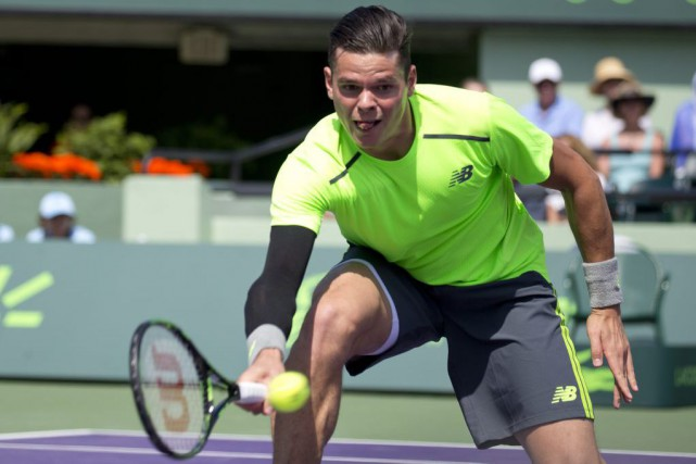 Milos Raonic... (Photo J Pat Carter, AP)