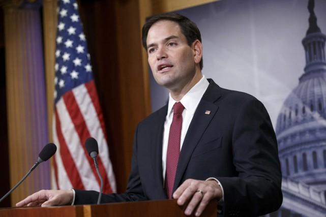 Marco Rubio est le fils d'émigrés cubains arrivés... (Photo: AP)