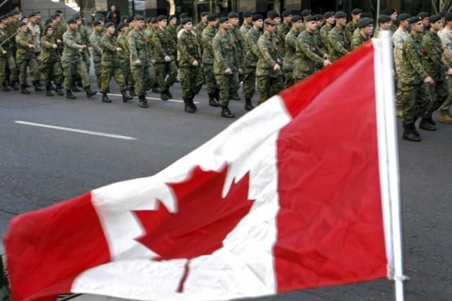 Les sommes versées aux soldats blessés sont actuellement... (Photo: PC)