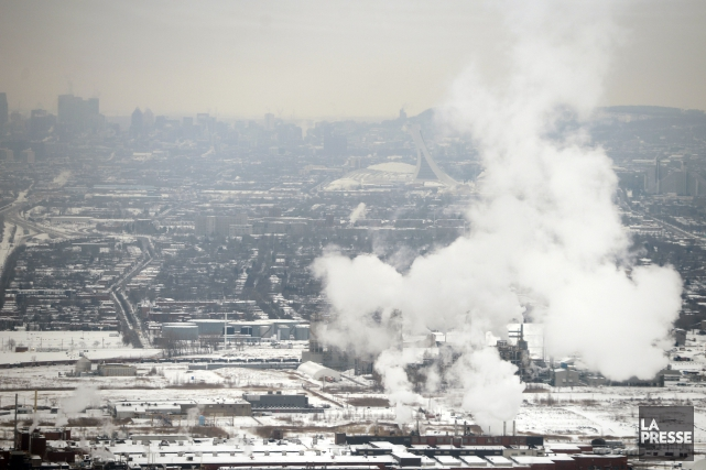 Le Canada devra d'ici 2025 réduire du tiers,... (Photo Bernard Brault, archives La Presse)