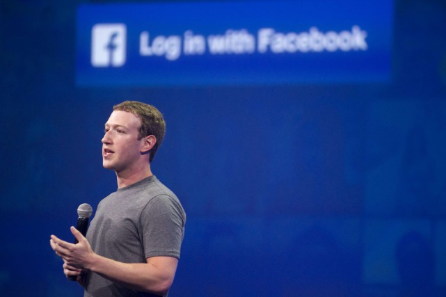 Facebook a déménagé dans de nouveaux locaux de la Silicon Valley conçus par... (Photo AFP)