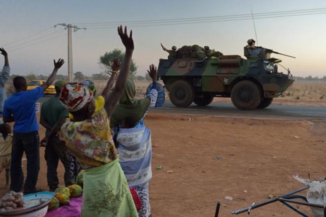 Les djihadistes ont été en grande partie chassés... (Archives AFP)