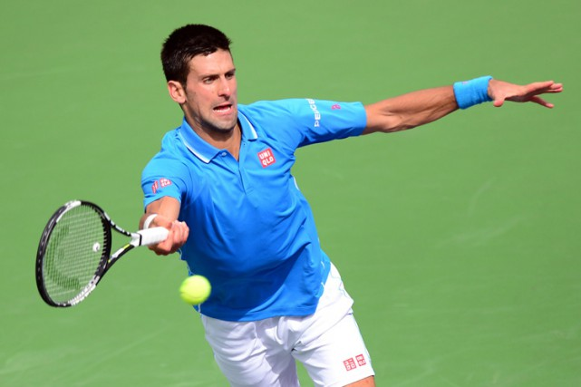 Novak Djokovic... (Photo: AFP)