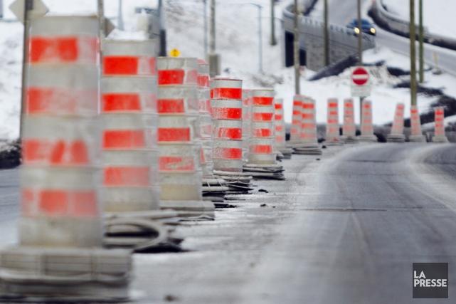 Le ministère des Transports du Québec (MTQ) inaugurera la semaine prochaine la... (PHOTO OLIVIER JEAN, LA PRESSE)