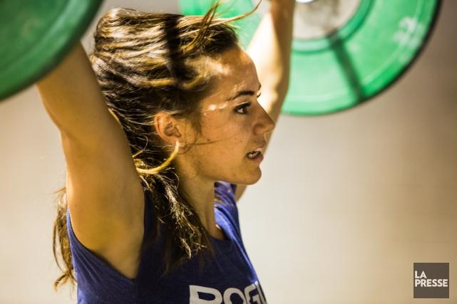 Camille Leblanc-Bazinet a terminé au quatrième rang des... (Photo Martin Leblanc, archives La Presse)