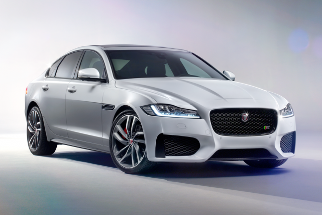 La XF 2016... (Photo fournie par Jaguar)