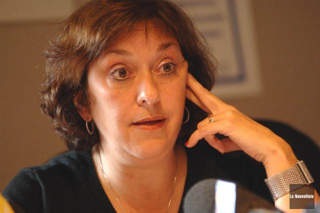 Claire Montour, présidente de la Fédération de la... (Archives Le Nouvelliste)