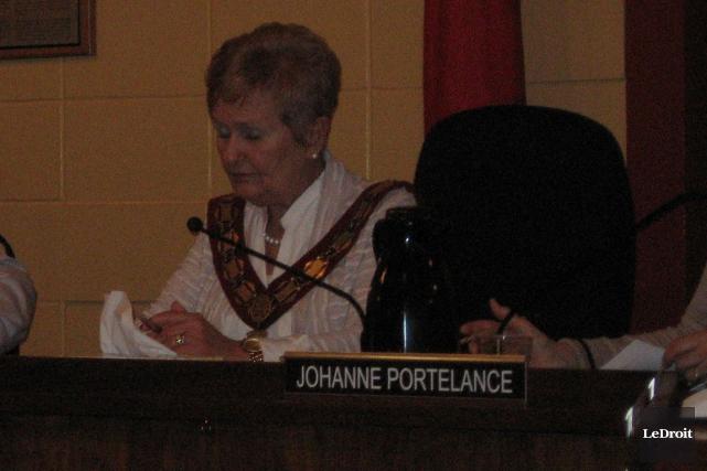 Jeanne Charlebois souhaite adopter un budget sans augmentation... (Martin Brunette, LeDroit)