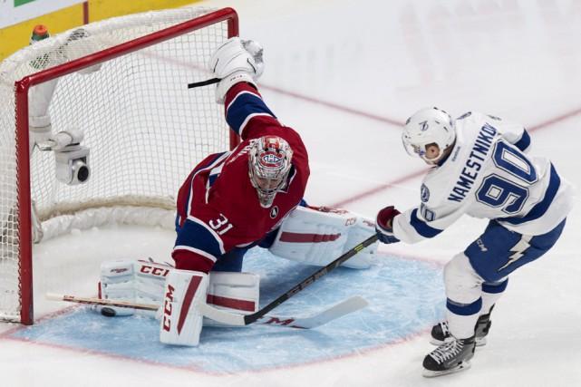 Vladislav Namestnikov a ouvert la marque en début... (Photo: La Presse Canadienne)