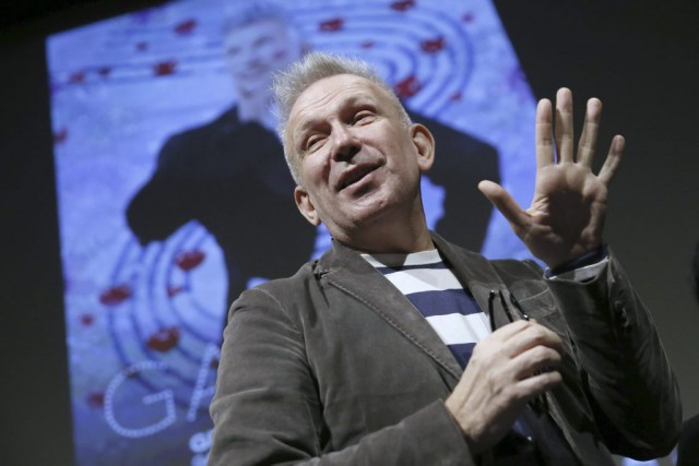 Le grand couturier Jean Paul Gaultier a fait... (Photo: AFP)