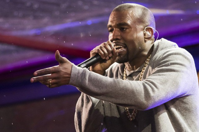 Kanye West.... (Photo Charles Sykes/Invision/AP)