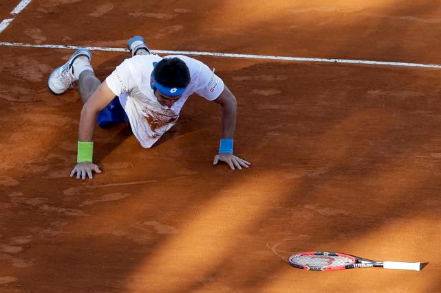 L'Argentin Leonardo Mayer (photo) et le Brésilien Joao... (Photo Natacha Pisarenko, AP)