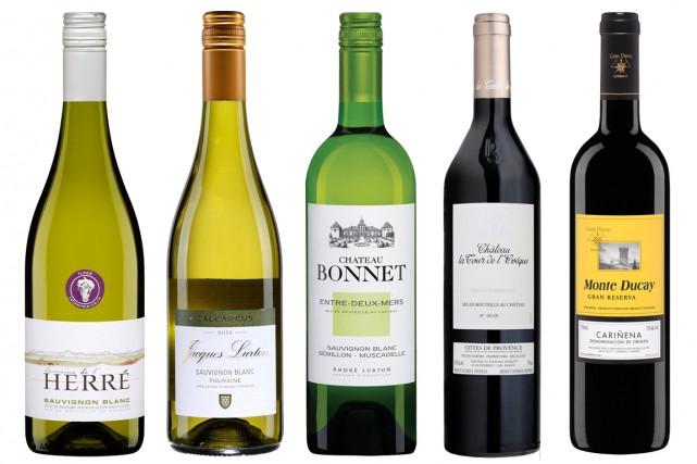 Avec le Chardonnay, le Sauvignon compte parmi les cépages blancs les plus... (Photos fournies par la SAQ)