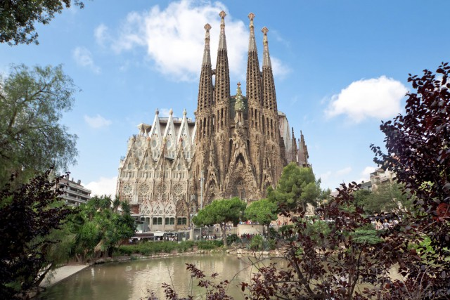 La Sagrada Familia, à Barcelone, en Espagne.... (Photo Digital/Thinkstock)
