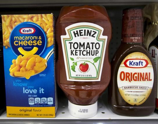 La création de Kraft Heinz a été annoncée... (Photo Brendan McDermid, Reuters)