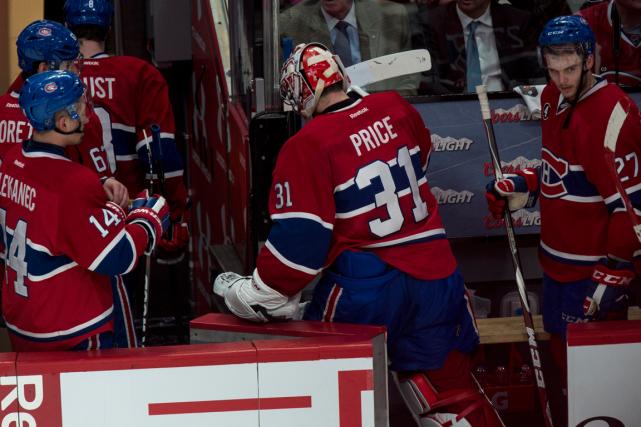Le Canadien a subi unecinquième défaite en autant... (Photo Paul Chiasson, PC)