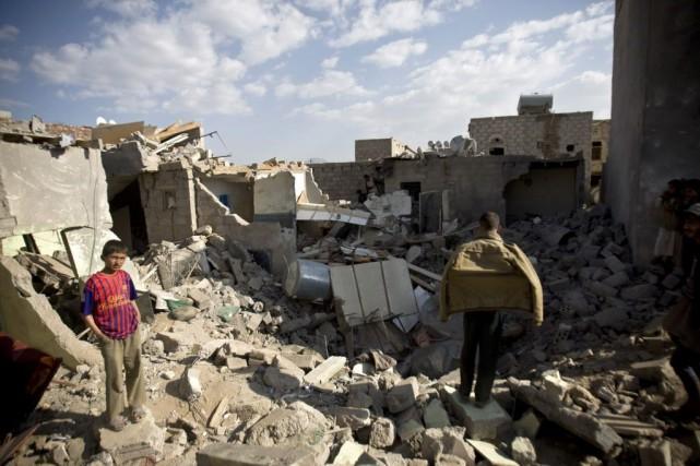 Le Yémen est en proie à de violents... (Photo Hani Mohammed, AFP)