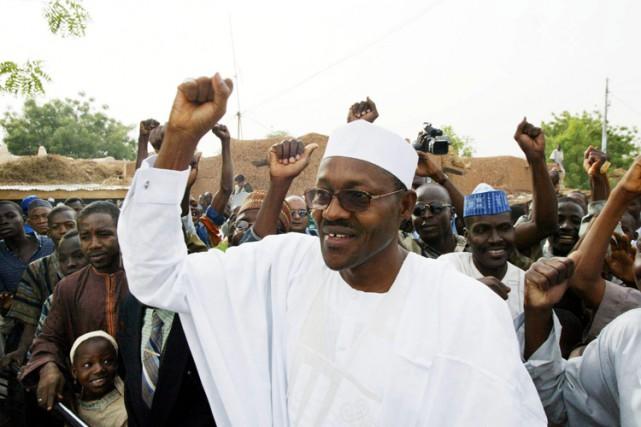 Muhammadu Buhari en 2003.... (Archives AP)