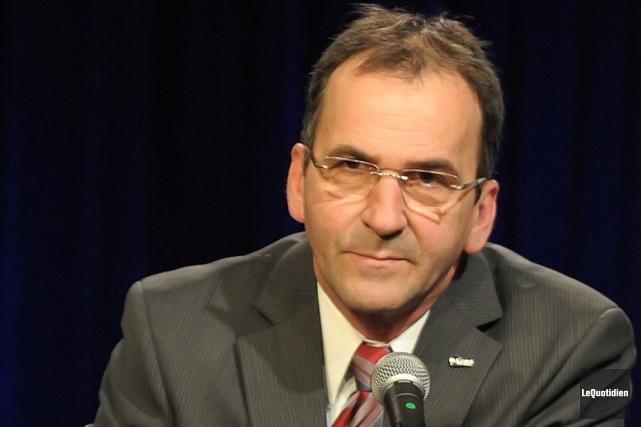 Bernard Côté a quitté ses fonctions de directeur... ((Archives Le Quotidien))
