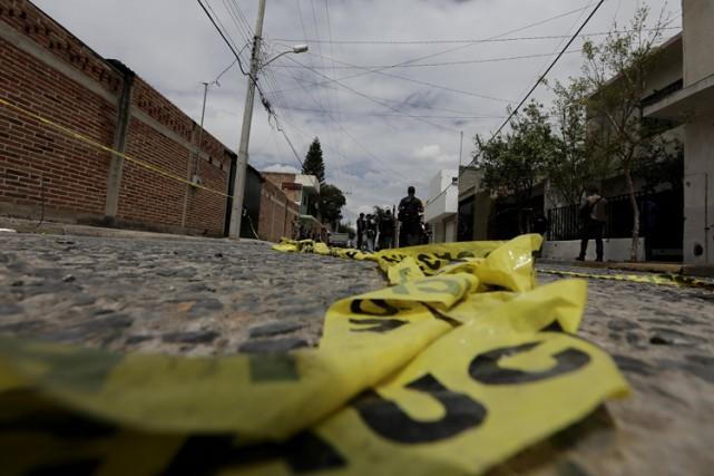 Les cadavres de 72 migrants sans papiers avaient... (Archives Reuters)