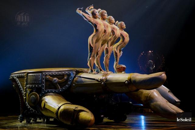 Le fondateur du Cirque du Soleil et principal... (Photothèque Le Soleil, Erick Labbé)
