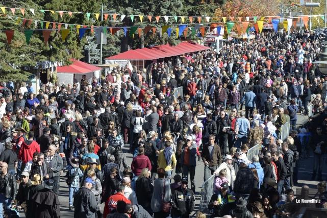Le Festival de la galette de Louiseville sera... (Photo: Sylvain Mayer Le Nouvelliste)