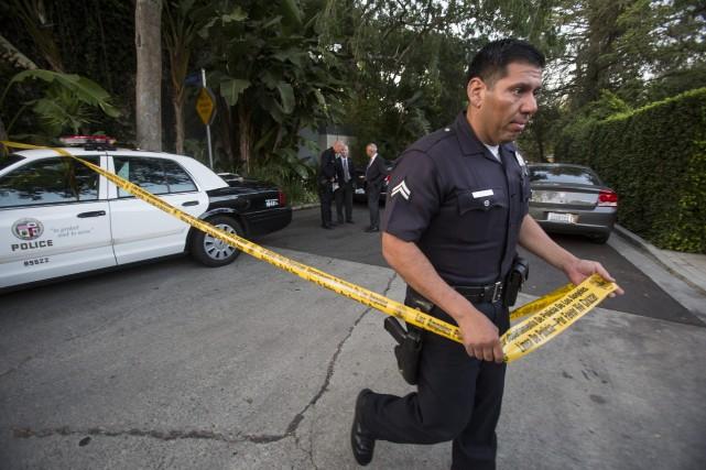 Le corps d'Andrew Getty a été retrouvé mardi,... (PHOTO RINGO H. W. CHIU, AP)