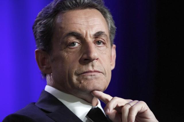 L'enquête dans laquelle a été entendu Nicolas Sarkozy... (PHOTO THIBAULT CAMUS, AP)