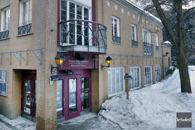 Le Théâtre Petit Champlain s'offrira des travaux qui... (Le Soleil, Jean-Marie Villeneuve)