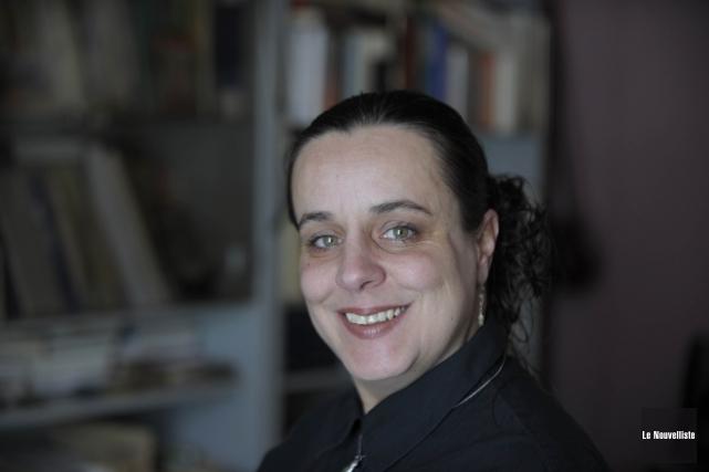 Sacki Carignan Deschamps veut représenter le Bloc québécois... (Photo: Sylvain Mayer Le Nouvelliste)