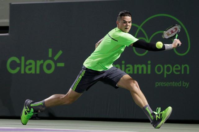 Milos Raonic... (Photo Luis M. Alvarez, AP)