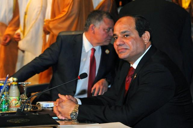 Le président égyptien, Abdel Fattah al-Sissi... (PHOTO MOHAMMED SAMAHA, AP)